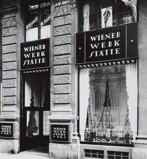 Talleres vieneses. Wiener Werkstätte