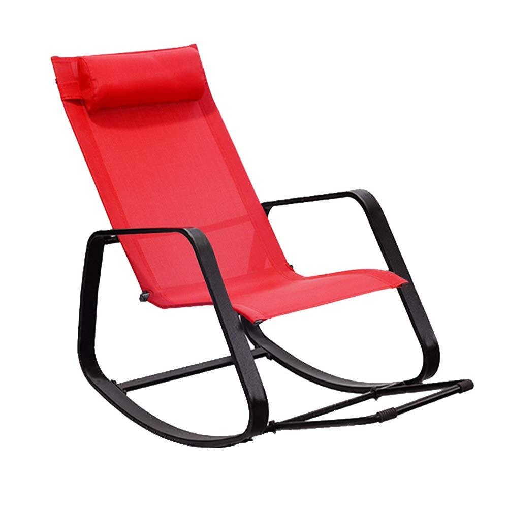 silla-mecedora-jardín
