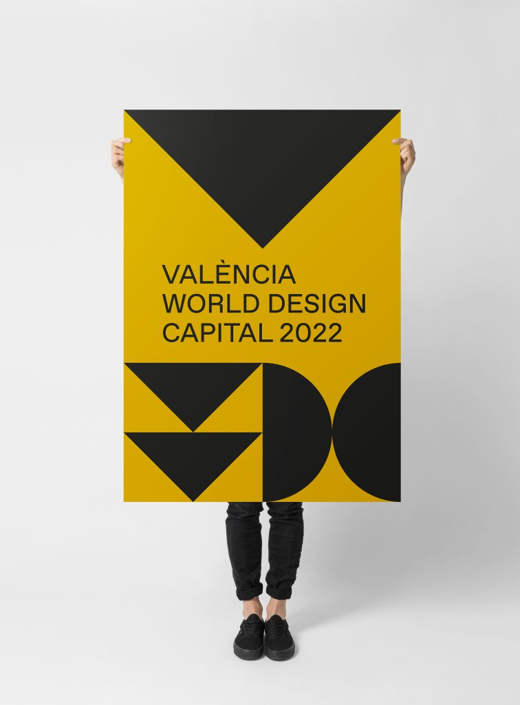Cartel Valéncia World Design Capital
