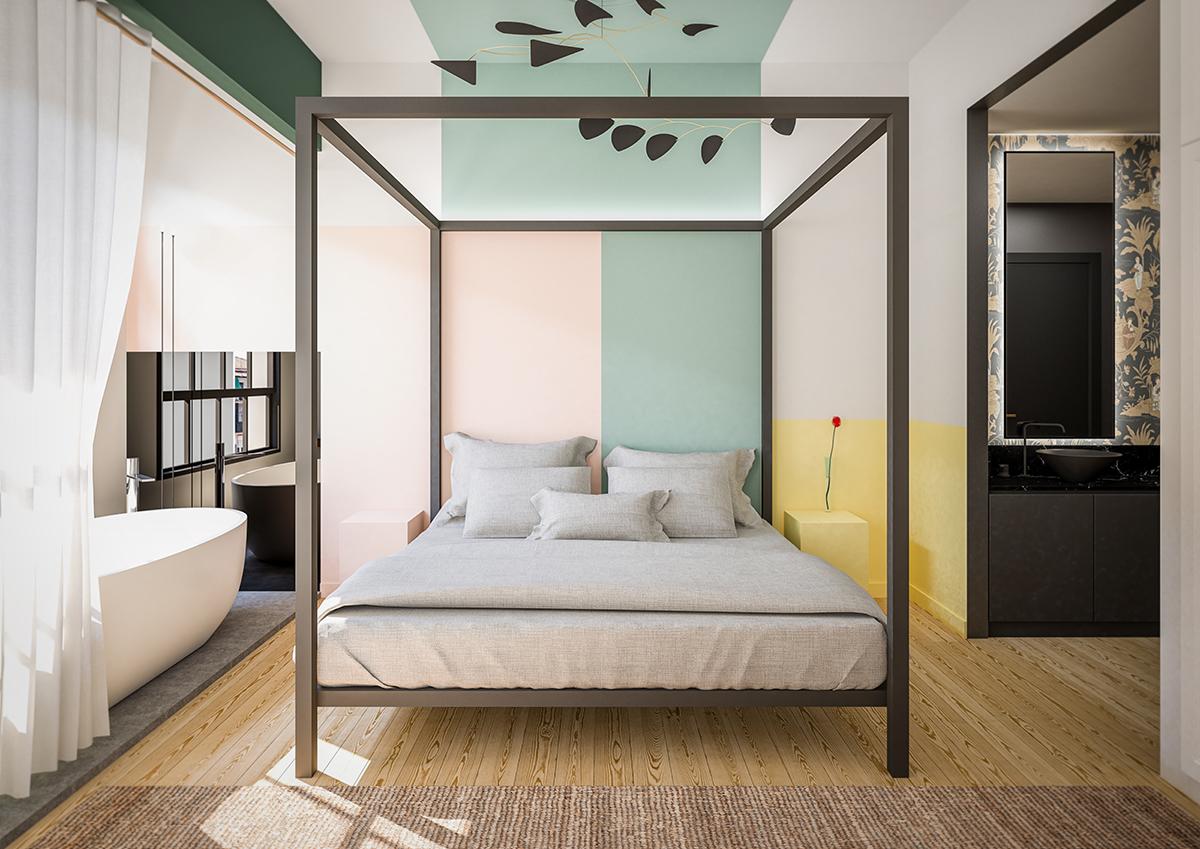 dormitorio-casa-gato-estilo-japandi-interiorismo-valencia-tiovivo
