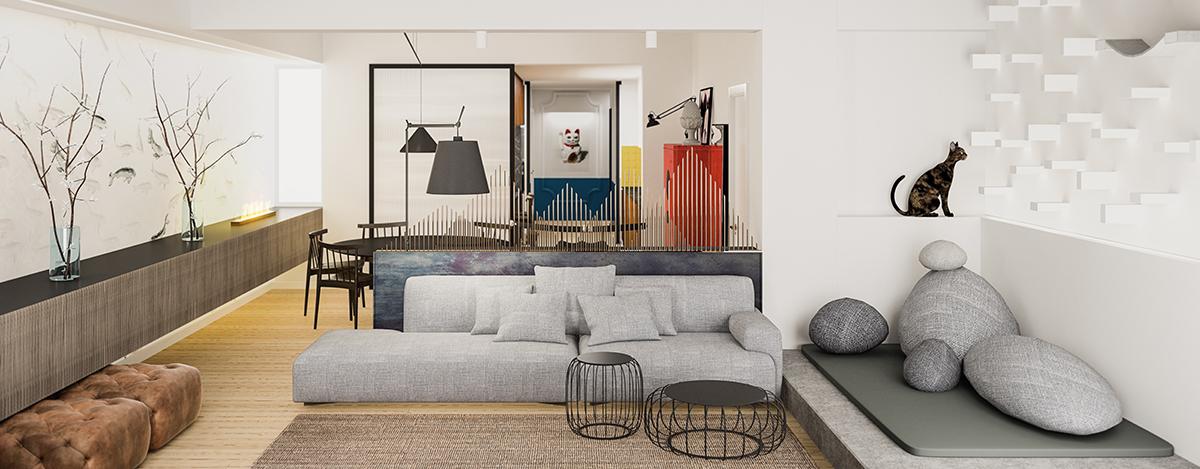 salon-espacio-abierto-diseño-vivienda-para-mascotas-tiovivo