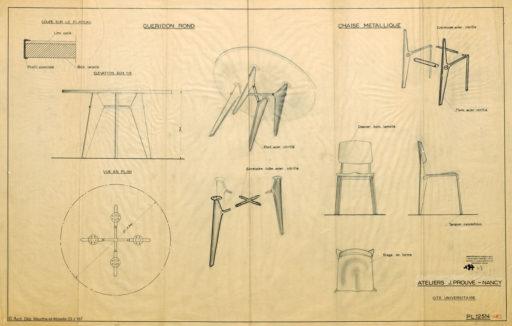 silla-jean-prouvé-mobiliario-diseño