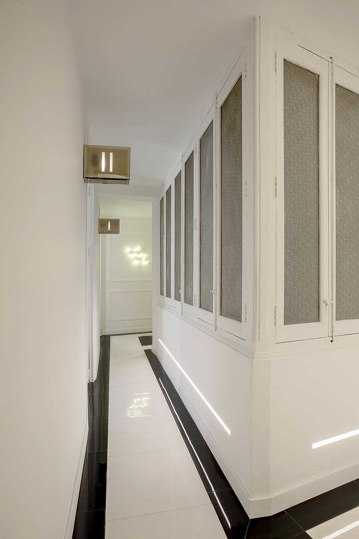 Diseño centro entrenamiento personal valencia en piso señorial Cánovvas