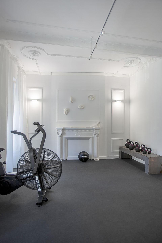 Interiorismo tiovivo diseño gimnasio en Valencia