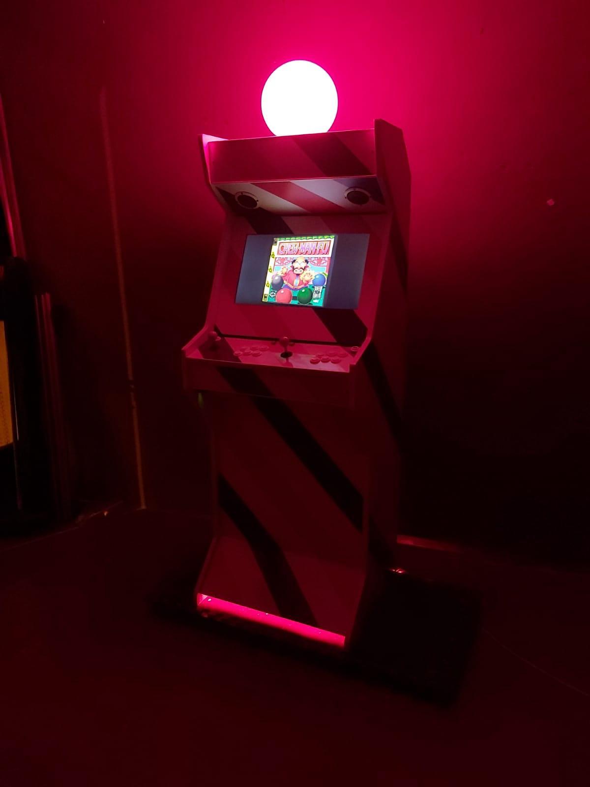 Máquinas Arcade personalizadas en valencia
