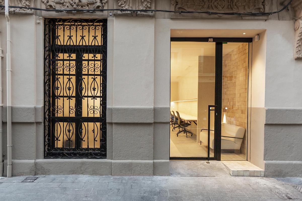 Diseño oficinas barrio Ruzafa