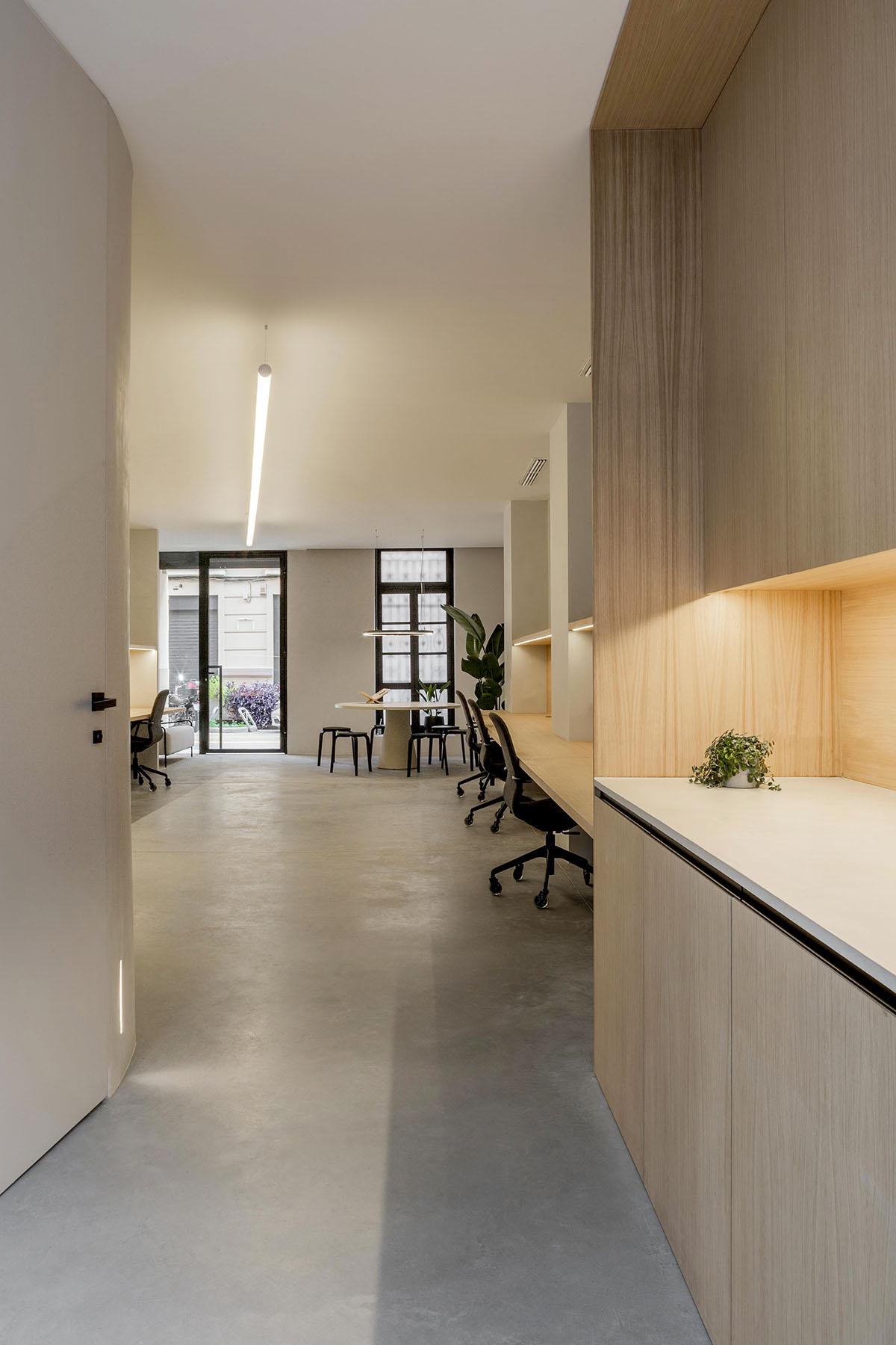 Diseño interior oficinas Valencia