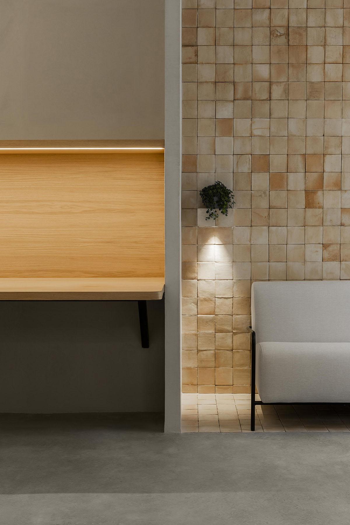 Diseño oficinas materiales calidad