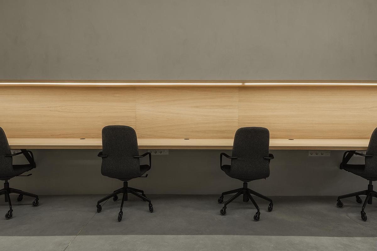 Espacios de trabajo con distancia social