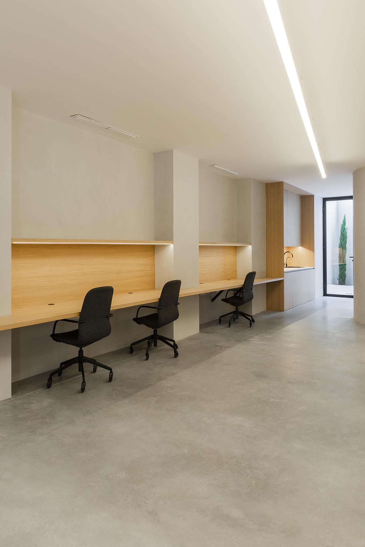 diseño oficinas Valencia distancia social